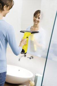 Auch Spiegel lassen sich reinigen