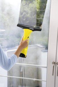 Einfache Reinigung der Fenster